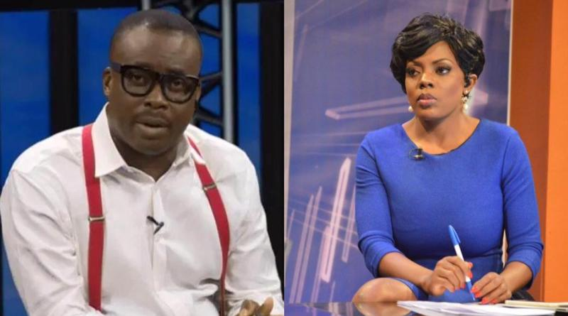 #FixTheCountry: GhOne TV's Nana Aba 'fixes' Metro TV's 'Coward' Adom Otchere