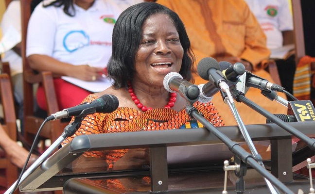 BREAKING: Former Central Regional Minister, Ama Benyiwa Doe has DIED
