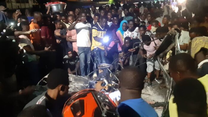 PHOTOS: Three burned to death in accident in Kumasi