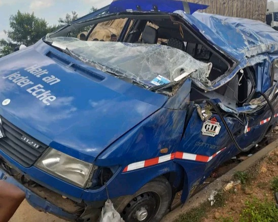 Five Reported dead on the Accra- Kumasi Highway