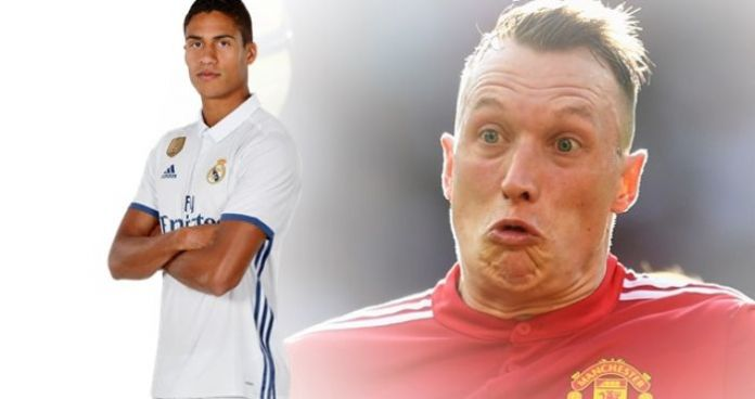 Raphael Varane handed No.19 after Phil Jones REFUSED to give up his squad number