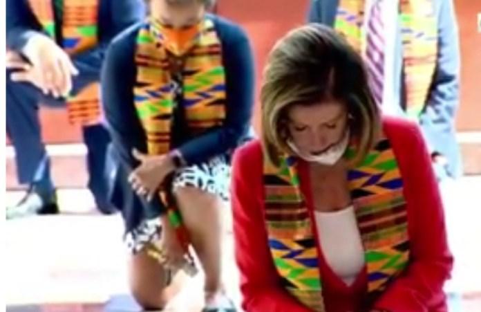 US Democrats wear kente