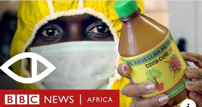 Corona Quacks: Exposing fake coronavirus cures in Ghana - BBC Africa Eye documentary