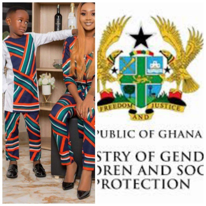 Stop Sharing Akuapem Poloo N_aked Photo With Her Son - Gender Ministry Warns
