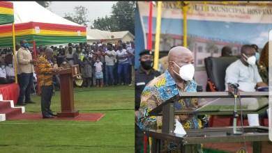 Prez. Nana Addo Dankwa Akufo-Addo Praises Health Minister.