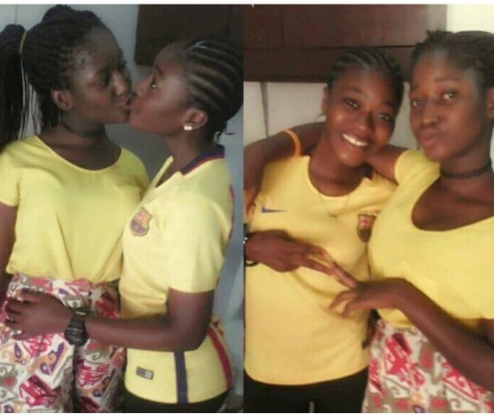 See What This Teenage Girls Posted On Facebook (Photos).