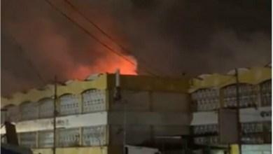 Fire Destroys Kaneshie Central Market