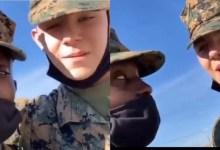 US soldier teaches his fellow White soldier how to speak Twi