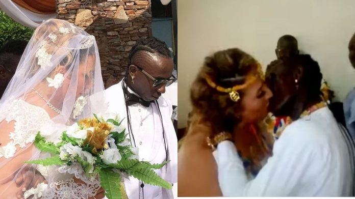Patapaa marries his Oyibo girlfriend, Gives Her a