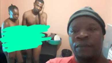 Man takes selfie for his in-laws after he Caught his Bestfriend Ch0pping his Wife (See Photos)