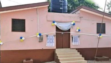 Kyeremansu 'AB' Gets First Public Toilet Since 20 Years Ago