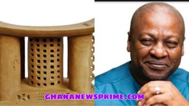 Chief Warns NDC Executives To Change Mahama Before 2024