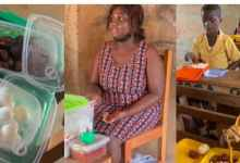 Amazing! Ghanaian Teacher Feeds Students Every Day With Her Pocket Money