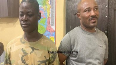 Four suspected armed robbers arrested at Ofaakor (PHOTOS)