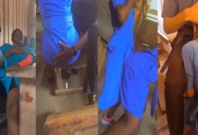 Check What These SHS Students Were Doing In Classroom When Their Teacher Was Away (Video)