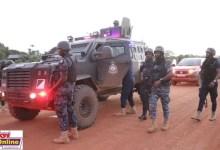 Nigerian Jailbreakers Re-arrested In Ghana At Crossing Volta River.