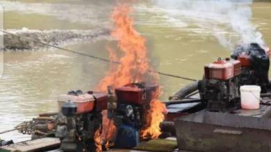 Galamsey Fight: Okyenhene Speaks On Burning Of Excavator