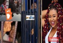 Video Of Adu Safowaah In Police Cells Exchanging Words With Afia Schwar Goes Viral On Social Media