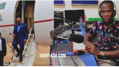 Ghanaian journalist prays to God to k!ll Akufo-Addo (Video)