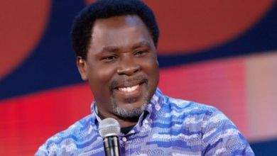 Just In: Prophet T.B Joshua was never honored by his own people - son speaks
