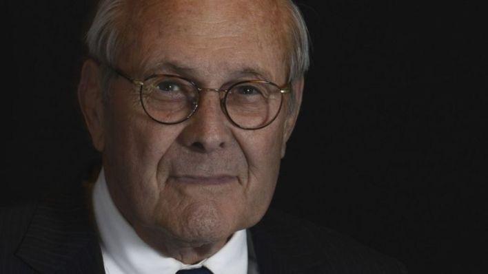 Former Defense Secretary Donald Rumsfeld Dies