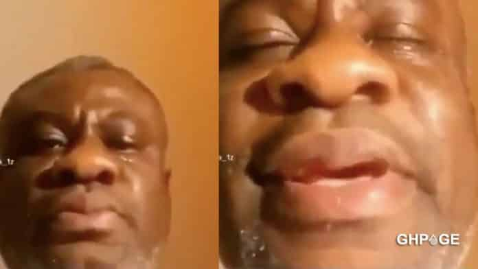 Video: Sugar daddy gets emotional after his girlfriend dumped him