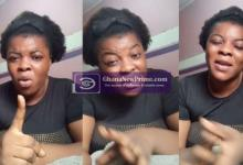 """""""God Will Punish You"""", Ghanaian Actress Curses Leaders as Her House Floods"""