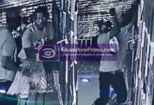 Video: Takoradi shop robbers caught on CCTV camera in the act
