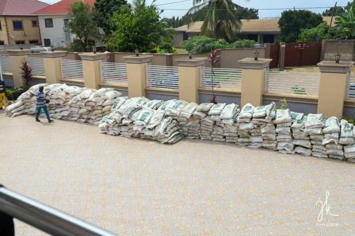 Ejisu rice farmers receive fertilizer support
