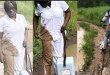 See what happened to a Midwife on her way to deliver healthcare (Photos)