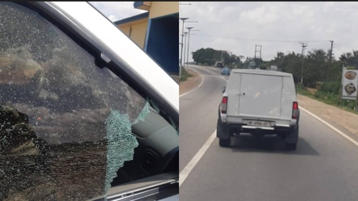 Armed robbers attack another bullion van on Winneba-Accra road