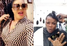 Beef Loading: Gloria Kani Blasts Nana Agradaa for attacking her (Video).
