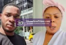 "Video] Twene Jonas ""annihilates"" Afia Schwarzenegger for hauling him into Otumfuo and Heward-Mills Saga"