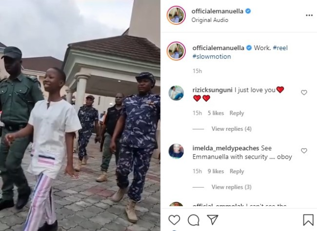 11-year old Nigeria comedienne, Emmanuella reacts to pregnancy rumours