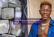 Shatta Wale busted for posting fake photos of money stolen from Google