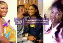 Video of married Abena Moet hiding her pregnancy from being filmed [Watch]