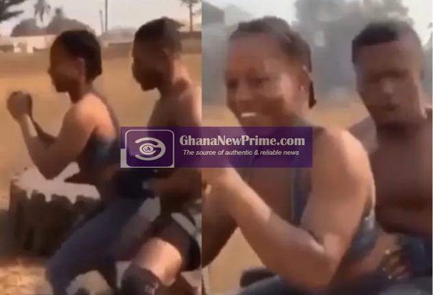 Another gym instructor spotted grinding and smooching someone's wife [Video]