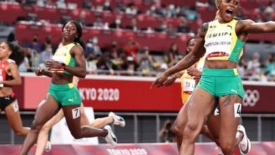 Tokyo Olympics: Elaine Thompson-Herah defends 100m title