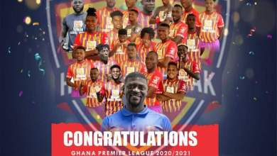 Hearts of Oak win their 29th League title after 12 years