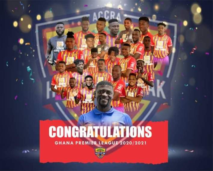 GPL: Hearts of Oak win their 29th League title after 12 years