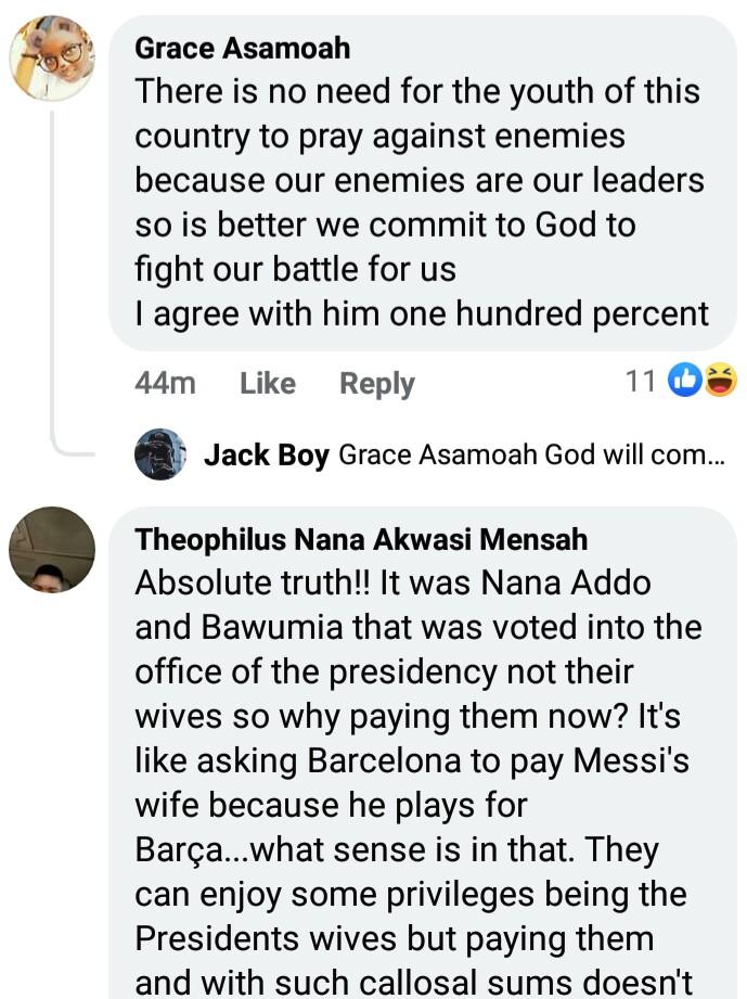 Ghanaians Praise Twene Jonas For Blasting Nana Akufo-Addo