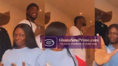 Mr Drew and Sefa enjoying themselves in Hotel room [Watch Video]