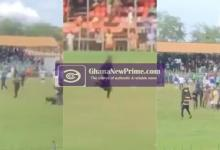Breaking: Referee attacked at sunyani coronation park in game between BA United and RTU