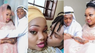 19-year-old boy weds a 39-year-old woman [Photos]