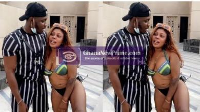 Yankey and Afia Schwarzenegger chill in Dubai