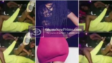 A lady caught on camera doing this to a man in a nightclub [ Video]