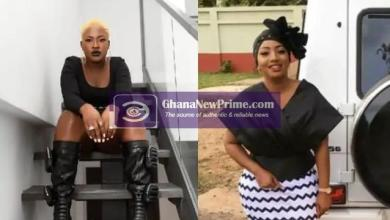 Diamond Appiah Insults Fella Makafui For Wearing Long Winter Boots Under Hot Sun In Ghana