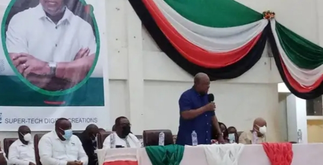 NPP can only account to Ghanaians when in opposition- Mahama