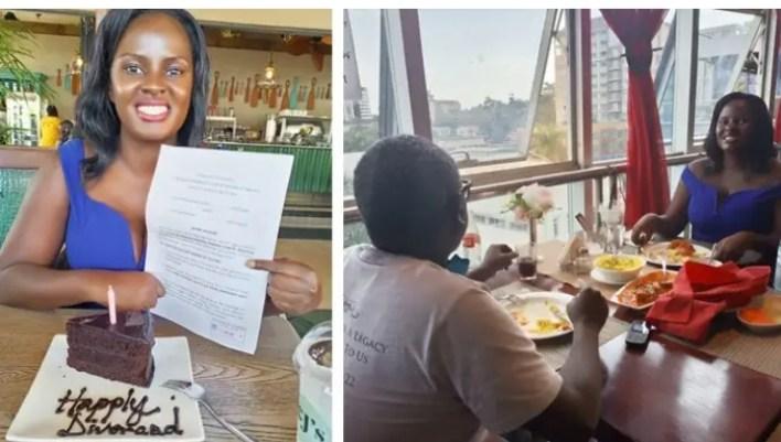 Formercouplehangout tocelebratetheir divorce after sixyearsofseparation