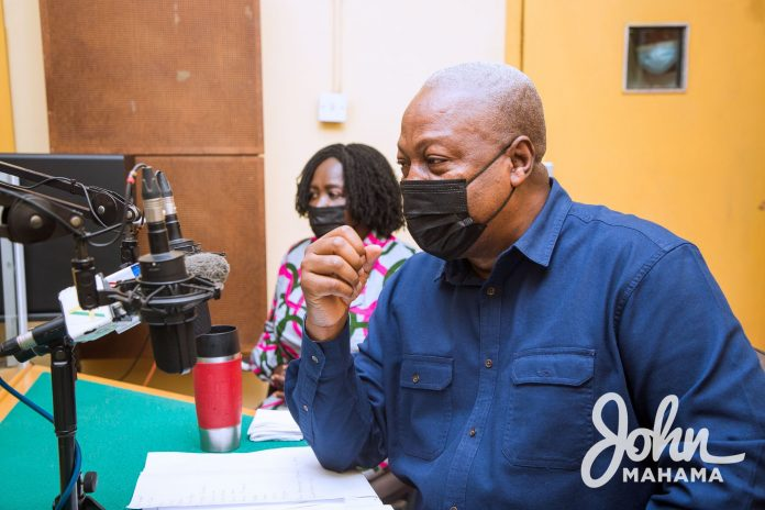 Former President Mahama describes government's agenda 111 as afterthought